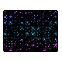 Stars Pattern Seamless Design Double Sided Fleece Blanket (small)