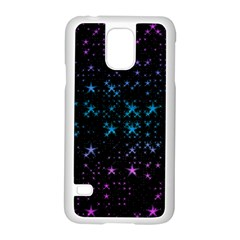 Stars Pattern Seamless Design Samsung Galaxy S5 Case (white)