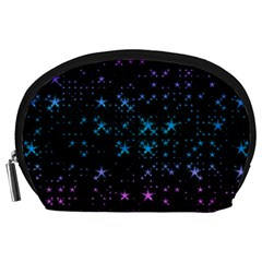 Stars Pattern Seamless Design Accessory Pouches (Large)