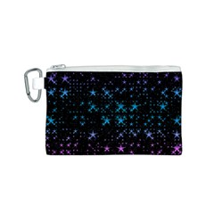 Stars Pattern Seamless Design Canvas Cosmetic Bag (s)
