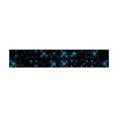 Stars Pattern Seamless Design Flano Scarf (mini)