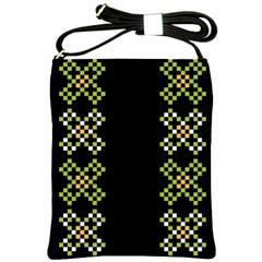 Vintage Pattern Background  Vector Seamless Shoulder Sling Bags