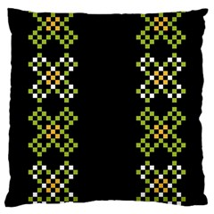 Vintage Pattern Background  Vector Seamless Large Cushion Case (one Side)