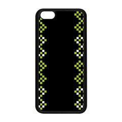 Vintage Pattern Background  Vector Seamless Apple Iphone 5c Seamless Case (black)