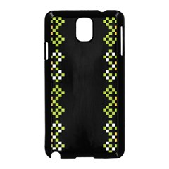 Vintage Pattern Background  Vector Seamless Samsung Galaxy Note 3 Neo Hardshell Case (black)