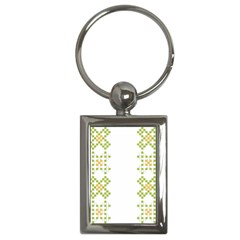 Vintage Pattern Background  Vector Seamless Key Chains (rectangle)