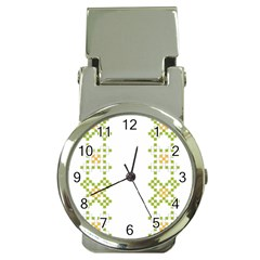 Vintage Pattern Background  Vector Seamless Money Clip Watches
