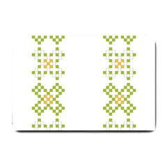 Vintage Pattern Background  Vector Seamless Small Doormat