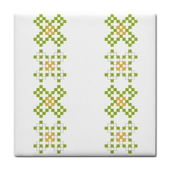 Vintage Pattern Background  Vector Seamless Face Towel