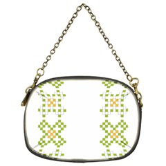 Vintage Pattern Background  Vector Seamless Chain Purses (one Side)