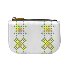Vintage Pattern Background  Vector Seamless Mini Coin Purses