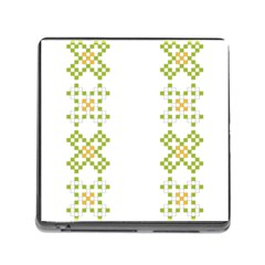 Vintage Pattern Background  Vector Seamless Memory Card Reader (square)