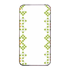 Vintage Pattern Background  Vector Seamless Apple Iphone 4/4s Seamless Case (black)