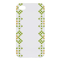 Vintage Pattern Background  Vector Seamless Apple Iphone 4/4s Hardshell Case
