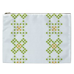Vintage Pattern Background  Vector Seamless Cosmetic Bag (xxl)