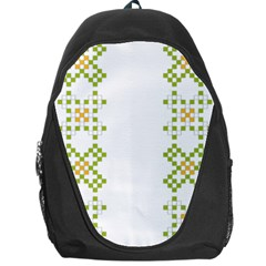 Vintage Pattern Background  Vector Seamless Backpack Bag