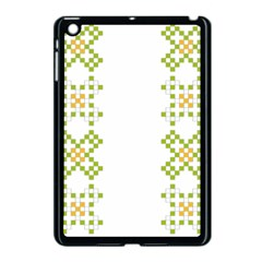 Vintage Pattern Background  Vector Seamless Apple Ipad Mini Case (black)