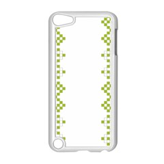 Vintage Pattern Background  Vector Seamless Apple Ipod Touch 5 Case (white)