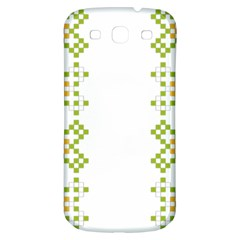 Vintage Pattern Background  Vector Seamless Samsung Galaxy S3 S Iii Classic Hardshell Back Case