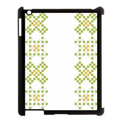 Vintage Pattern Background  Vector Seamless Apple Ipad 3/4 Case (black)
