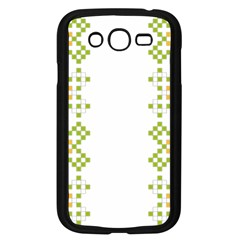 Vintage Pattern Background  Vector Seamless Samsung Galaxy Grand Duos I9082 Case (black)
