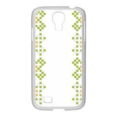 Vintage Pattern Background  Vector Seamless Samsung Galaxy S4 I9500/ I9505 Case (white)