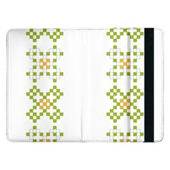 Vintage Pattern Background  Vector Seamless Samsung Galaxy Tab Pro 12 2  Flip Case