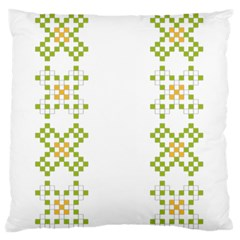 Vintage Pattern Background  Vector Seamless Standard Flano Cushion Case (two Sides)