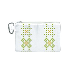 Vintage Pattern Background  Vector Seamless Canvas Cosmetic Bag (s)