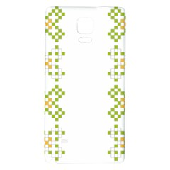 Vintage Pattern Background  Vector Seamless Galaxy Note 4 Back Case