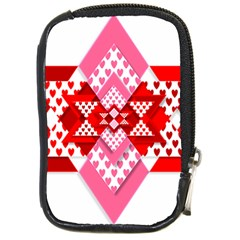 Valentine Heart Love Pattern Compact Camera Cases