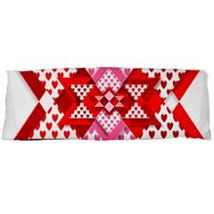 Valentine Heart Love Pattern Body Pillow Case (Dakimakura)