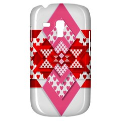 Valentine Heart Love Pattern Galaxy S3 Mini