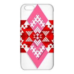 Valentine Heart Love Pattern iPhone 6/6S TPU Case
