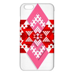 Valentine Heart Love Pattern Iphone 6 Plus/6s Plus Tpu Case
