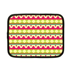 Tribal Pattern Background Netbook Case (small)