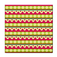 Tribal Pattern Background Face Towel