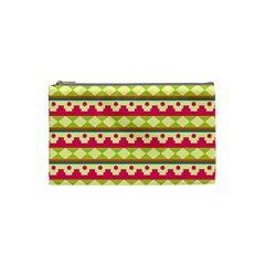 Tribal Pattern Background Cosmetic Bag (small)