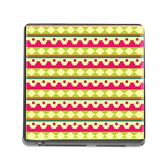 Tribal Pattern Background Memory Card Reader (square)