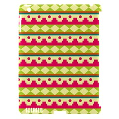 Tribal Pattern Background Apple Ipad 3/4 Hardshell Case (compatible With Smart Cover)