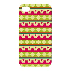 Tribal Pattern Background Apple Iphone 4/4s Premium Hardshell Case