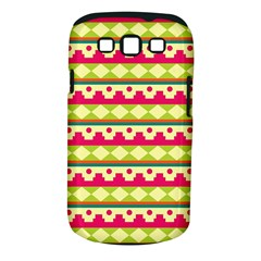 Tribal Pattern Background Samsung Galaxy S Iii Classic Hardshell Case (pc+silicone)