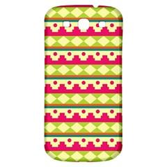 Tribal Pattern Background Samsung Galaxy S3 S Iii Classic Hardshell Back Case