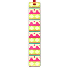 Tribal Pattern Background Large Book Marks