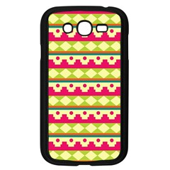 Tribal Pattern Background Samsung Galaxy Grand Duos I9082 Case (black)