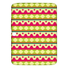 Tribal Pattern Background Samsung Galaxy Tab 3 (10 1 ) P5200 Hardshell Case
