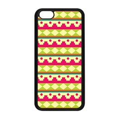 Tribal Pattern Background Apple Iphone 5c Seamless Case (black)