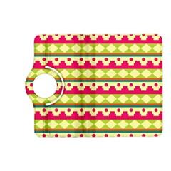 Tribal Pattern Background Kindle Fire Hd (2013) Flip 360 Case