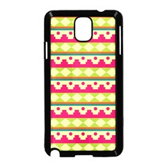 Tribal Pattern Background Samsung Galaxy Note 3 Neo Hardshell Case (black)