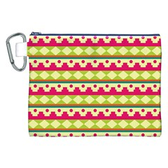 Tribal Pattern Background Canvas Cosmetic Bag (xxl)